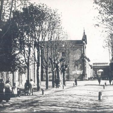 La porta d'ingresso a Castelleone